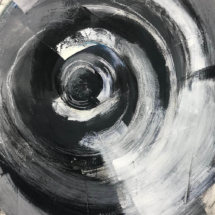 Concentric, Mixed Media, 24 x 18