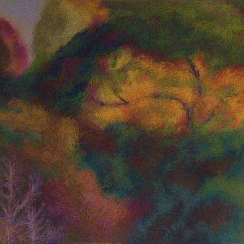 Studio View, Soft Pastel, 24 x 36