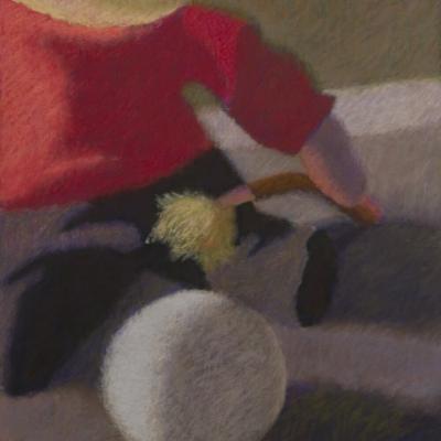 The Artist, Soft Pastel, 12 x 9