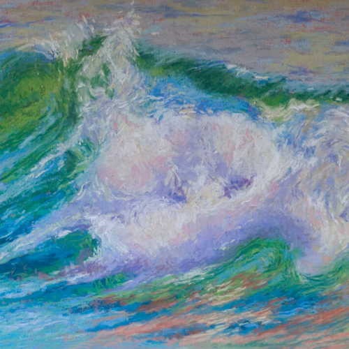 The Wave, Soft Pastel